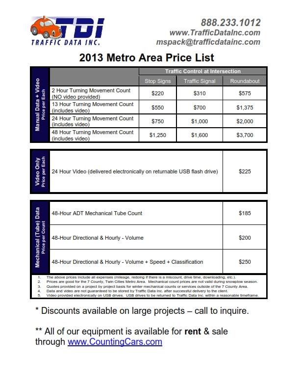 2013 TDI Price List_001